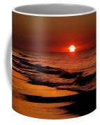 Sun Emerging From The Water Coffee Mug
