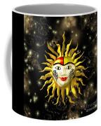 Sun Face  Coffee Mug