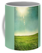Sun Over Field Coffee Mug
