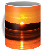 Sun Over Rotortua Nz Coffee Mug