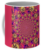 Sun Pattern Coffee Mug