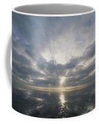 Sun Reflection Over Water, Wattenmeer Coffee Mug