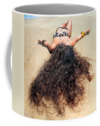 Sunbathing Woman Coffee Mug