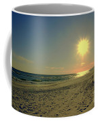 Sunburst At Henderson Beach Florida Coffee Mug by Susanne Van Hulst
