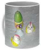 Easter Chicks And Kitties Coffee Mug