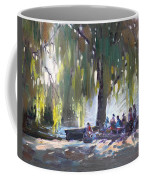 Sunday Afternoon By The Fontain Coffee Mug