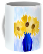 Sunflower Fantasy Still Life Coffee Mug