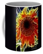 Sunflower Fractal Coffee Mug