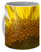 Sunflower Macro Coffee Mug
