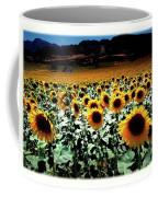 Sunflowers At Dusk Coffee Mug