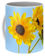 Sunflowers Sky Coffee Mug