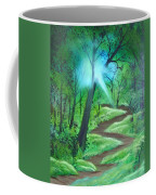 Sunlight In The Forest Coffee Mug