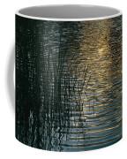 Sunlight Reflects On Rippled Water Coffee Mug