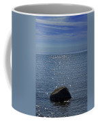 Sunlight Sparkling On The Water At Sturgeon Point Coffee Mug