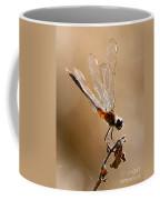 Sunlight Through Golden Wings Coffee Mug