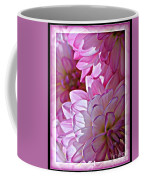 Sunlight Through Pink Dahlias Coffee Mug by Carol Groenen
