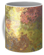 Sunlit Bricks Abstract Coffee Mug