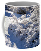 Sunlit Snowy Sanctuary Coffee Mug
