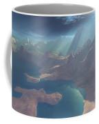 Sunrays Shine Down On This Image Coffee Mug