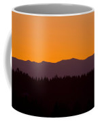 Sunrise As Seen From Mt. Scott Coffee Mug