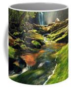 Sunrise At Elakala Falls Coffee Mug