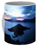 Sunrise At The Crater Coffee Mug