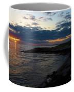 Sunrise At The Edge Coffee Mug