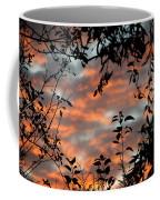 Sunrise Leaves Coffee Mug
