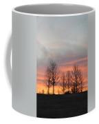 Sunrise On The Hill Coffee Mug