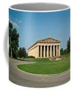 Sunrise On The Parthenon Coffee Mug