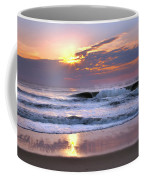 Sunrise On The Waves Coffee Mug