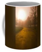 Sunrise Over Country Road, Oregon Coffee Mug
