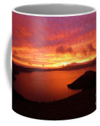 Sunrise Over Crater Lake Coffee Mug