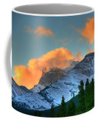 Sunrise Over Crowsnest Pass, Border Coffee Mug