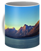 Sunrise Over Jackson Lake Coffee Mug