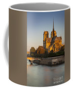 Sunrise Over Notre Dame Coffee Mug