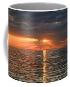 Sunrise Over Ripples Coffee Mug
