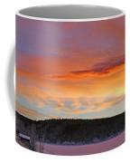 Sunrise Over Teslin Lake, Yukon Coffee Mug