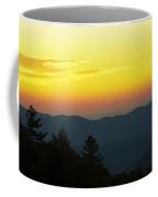 Sunrise Over The Mountains Coffee Mug