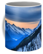 Sunrise Over The Rockies Coffee Mug
