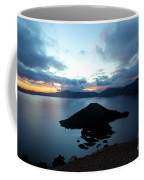 Sunrise Over The Wizard Coffee Mug
