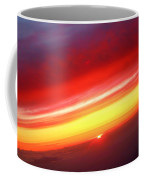 Sunset Above The Clouds Coffee Mug