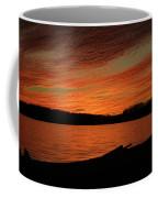 Sunset And Kayak Coffee Mug