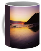Sunset And Sea Coffee Mug