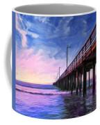 Sunset At Avila Beach Coffee Mug