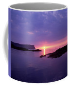 Sunset At Benbane Head On The North Coffee Mug