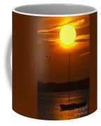 Sunset At Cape Cod Coffee Mug