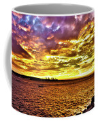 Sunset At Danshui Hdr Coffee Mug