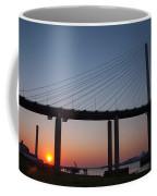 Sunset At Dartford Bridge Coffee Mug