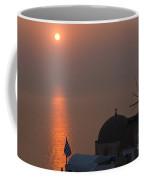 Sunset At Iao Greece Coffee Mug